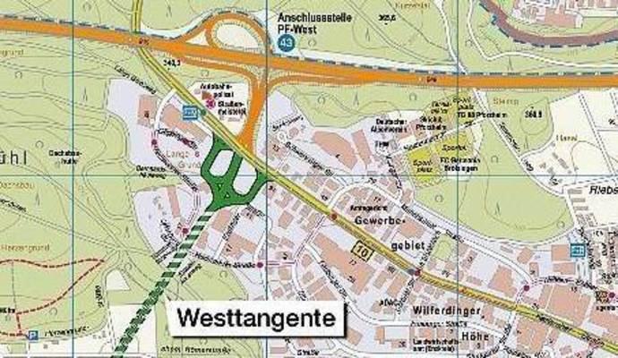 Westtangente Pforzheim