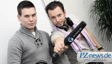 Nathan Lynch und David Nessuno (von links): Zwei Pforzheimer DJ's im Interview mit PZ-Nightlife