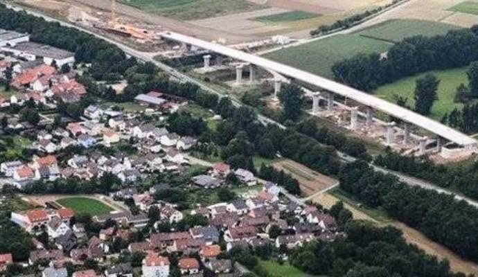 Ausbau A8 Pforzheim