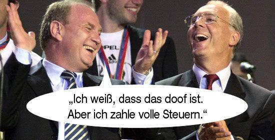 Lob Und Tadel Zitate Von Und Uber Uli Hoeness Foto Pforzheimer