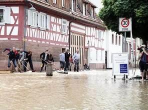 Unwetterwarnung Pforzheim