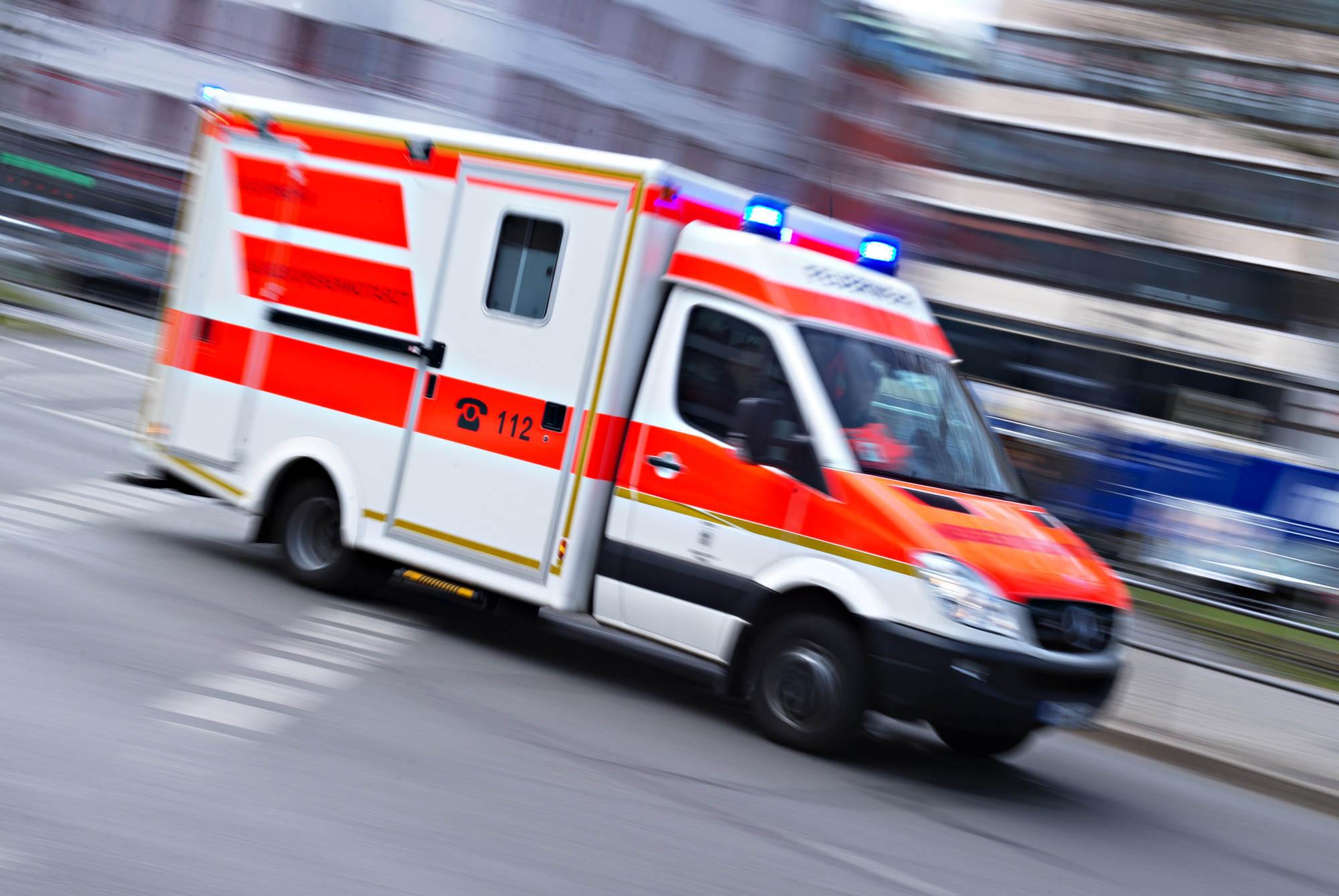 Unfall Krankenwagen