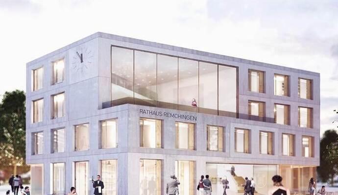 Remchinger Rathaus Neubau Schlagt Zu Buche Die Bisherigen Kosten Im