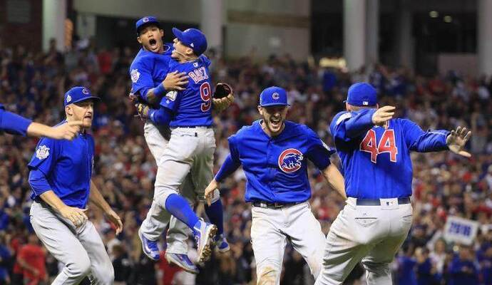 Die Chicago Cubs haben die Baseball-World-Series gewonnen. Foto: Tannen Maury
