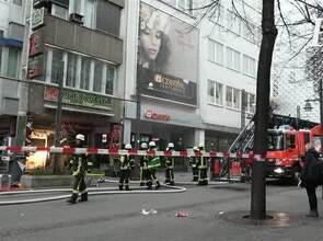 Brand in Dönerimbiss in Pforzheimer City