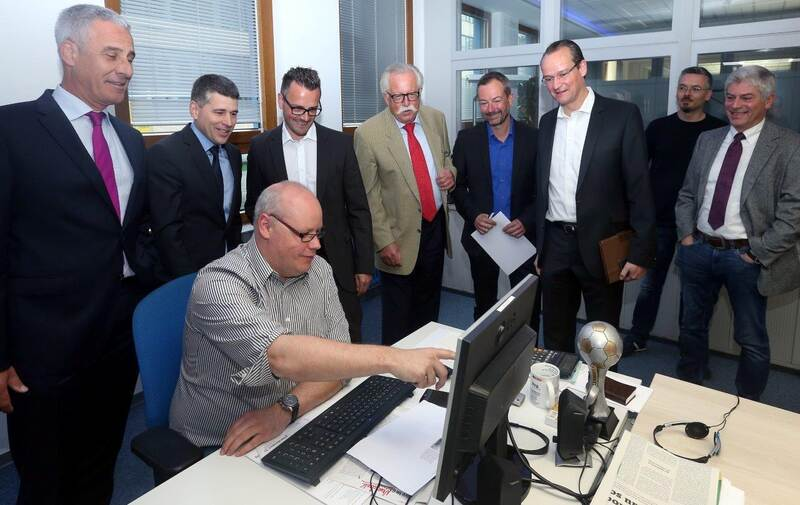 Peter Boch Zu Gast In Der Pz Redaktion Foto