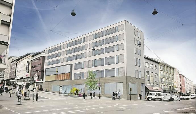 Sinn Leffers Gebäude In Pforzheims City Bald Beginnt Der Große
