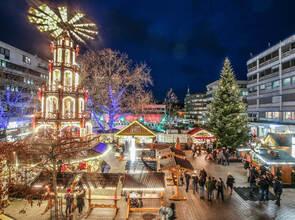 Weihnachtsmarkt Noch Geöffnet.Auf Ein Neues Im Nächsten Winter Weihnachtsmarkt Nur Noch Bis