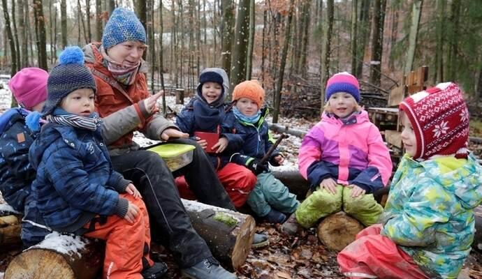 Natur Und Waldkindergarten In Monsheim Fur Zukunft Gerustet