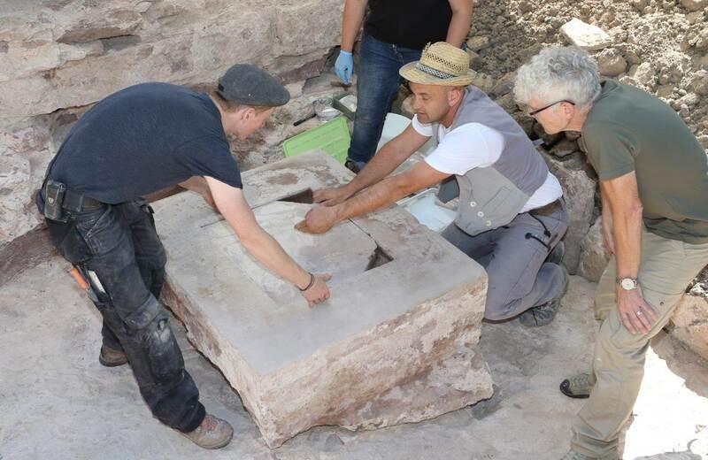 Definition von Archäologie Kreuzung