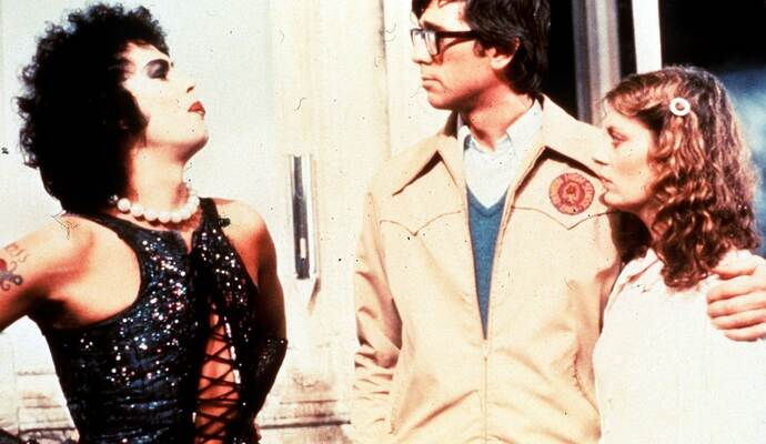 """The Rocky Horror Picture Show"" beendet die Open-Air-Kinosaison im Osterfeld-Innenhof."