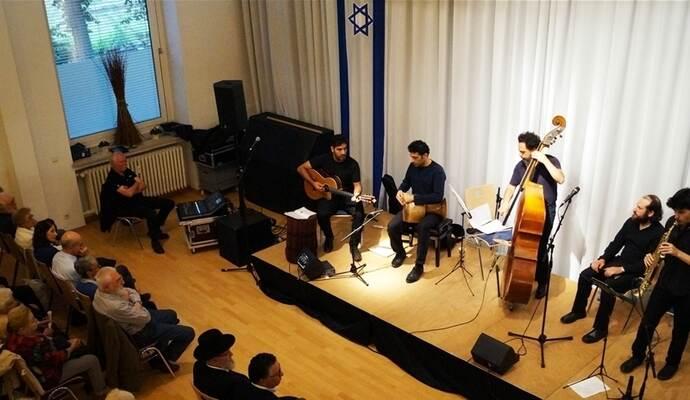 """""""Sistanagila"""" in der Jüdischen Gemeinde Pforzheim"""