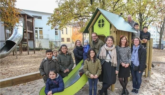 Klettergerüst Planer : Spielgeräte im klingelpark eingeweiht u2013 grundschüler steuerten ideen