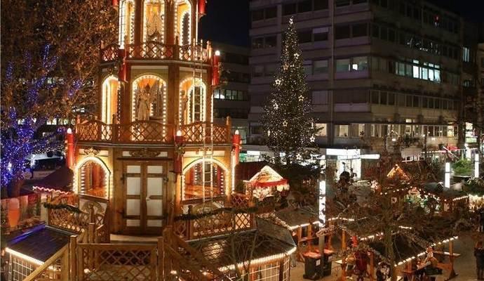 Pforzheimer Weihnachtsmarkt.Weihnachtsmärkte In Baden Württemberg Rüsten Sich Gegen Den Terror