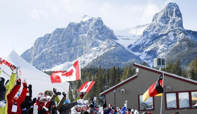 Die Sprints in Canmore wurden erneut abgesagt. Foto: Jeff Mcintosh/The Canadian Press/AP