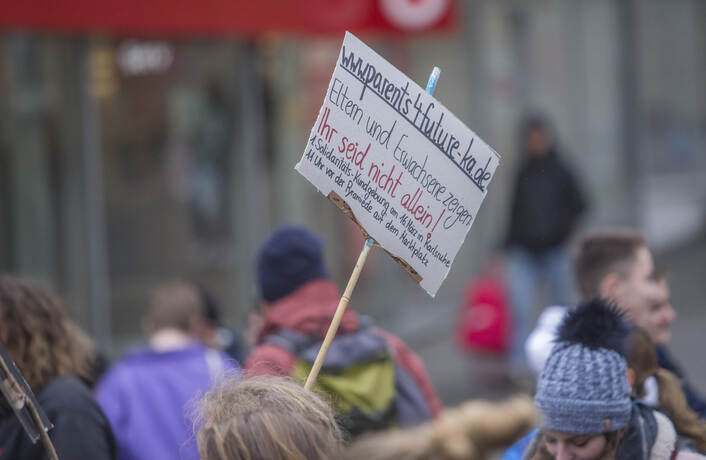 Schülerdemo Fridays for Future 30