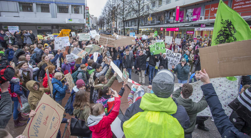 Schülerdemo Fridays for Future 31