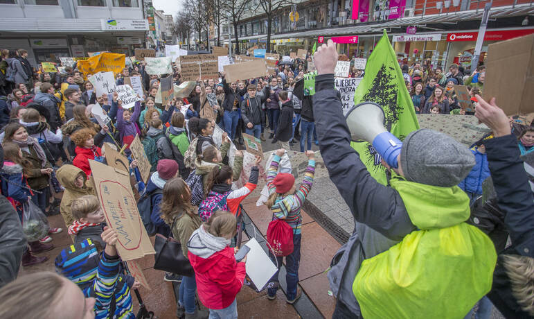 Schülerdemo Fridays for Future 35