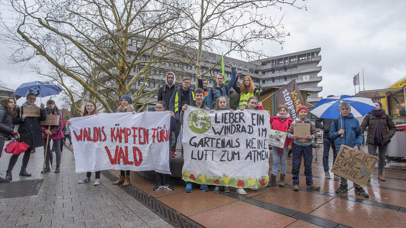 Schülerdemo Fridays for Future 06