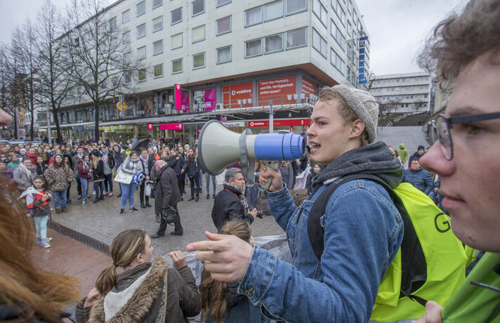 Schülerdemo Fridays for Future 07