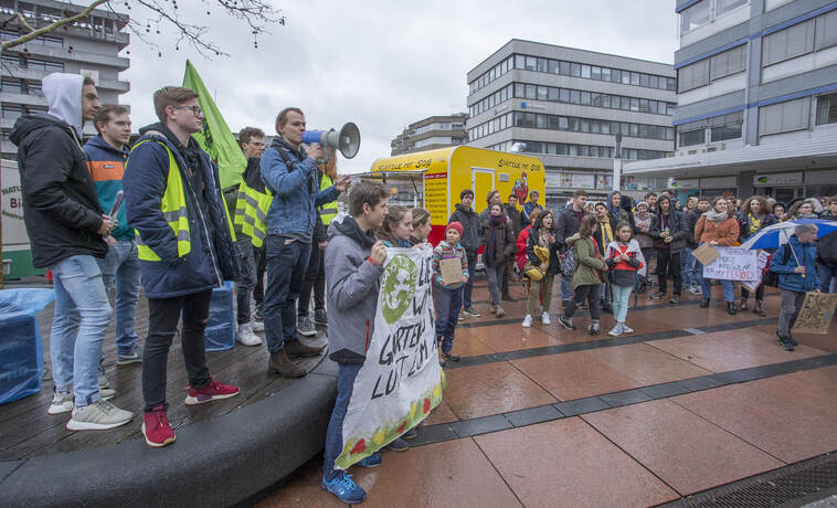 Schülerdemo Fridays for Future 09