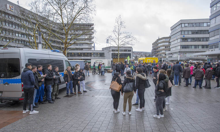 Schülerdemo Fridays for Future 11
