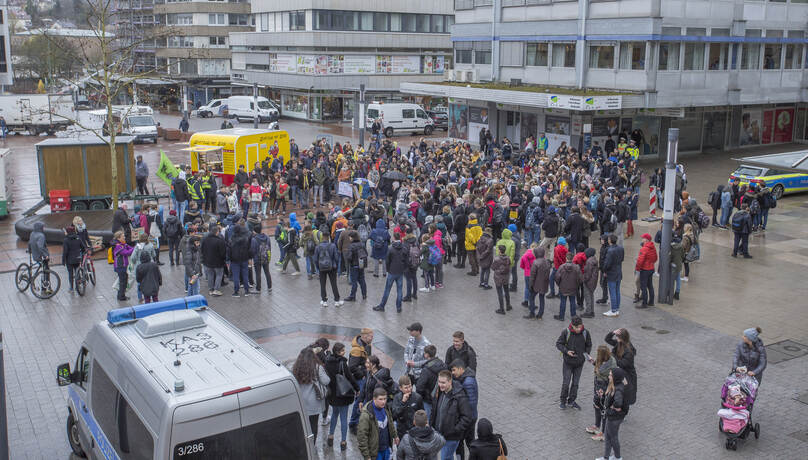 Schülerdemo Fridays for Future 12