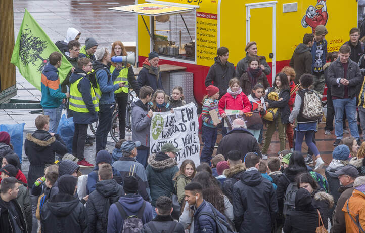 Schülerdemo Fridays for Future 13
