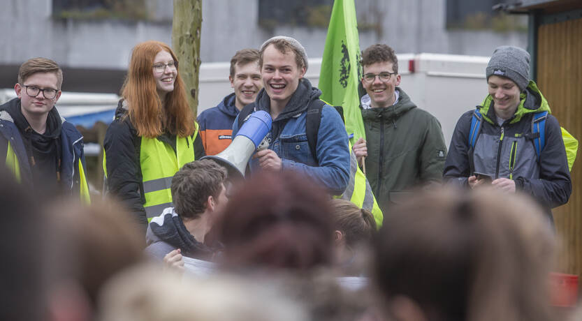 Schülerdemo Fridays for Future 16
