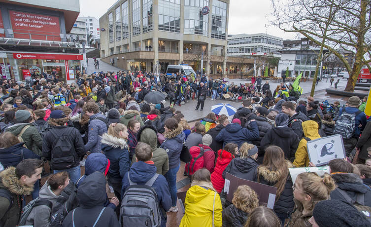 Schülerdemo Fridays for Future 18