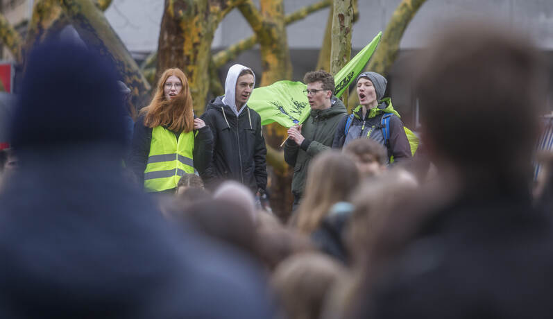 Schülerdemo Fridays for Future 23