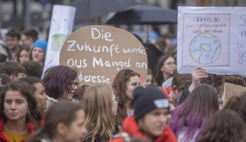 Schülerdemo Fridays for Future 38