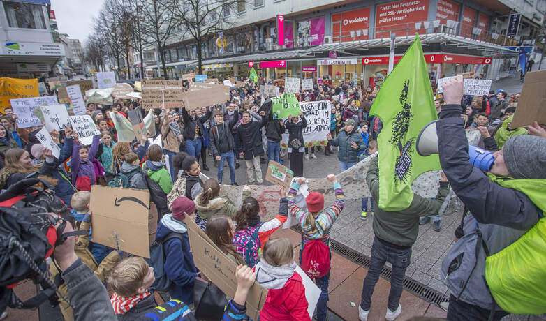 Schülerdemo Fridays for Future 39
