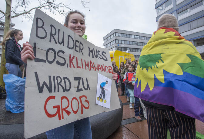 Schülerdemo Fridays for Future 42