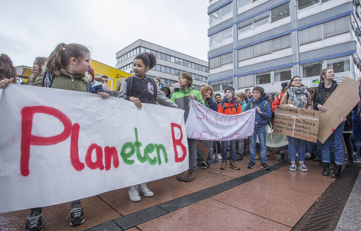Schülerdemo Fridays for Future 43