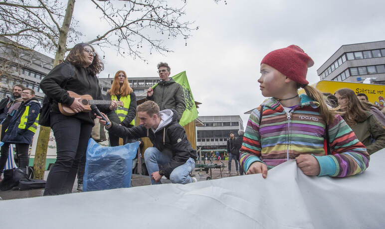 Schülerdemo Fridays for Future 45