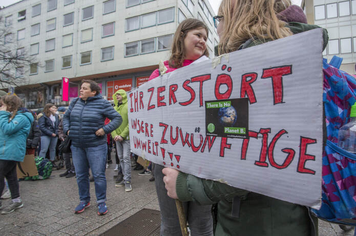 Schülerdemo Fridays for Future 47