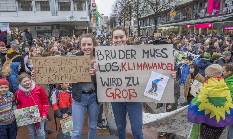 Schülerdemo Fridays for Future 48