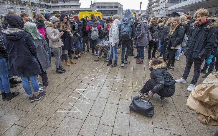 Schülerdemo Fridays for Future 52