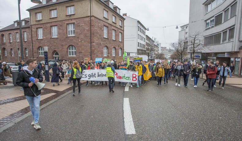 Schülerdemo Fridays for Future 61