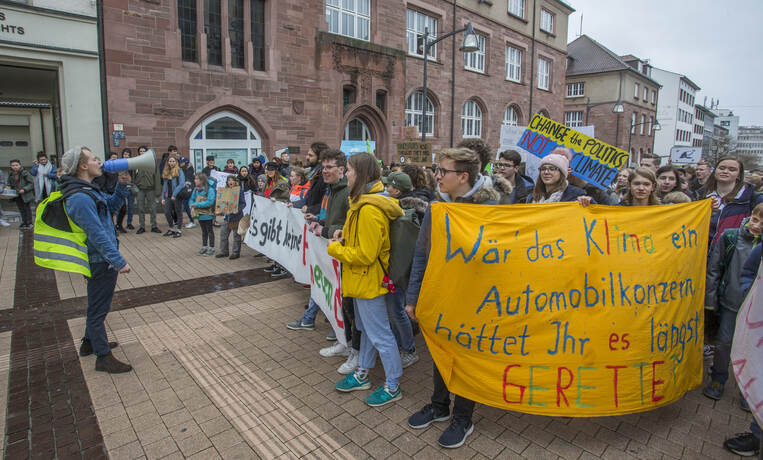 Schülerdemo Fridays for Future 63