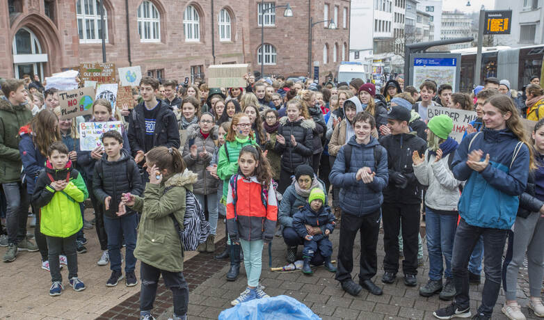 Schülerdemo Fridays for Future 69