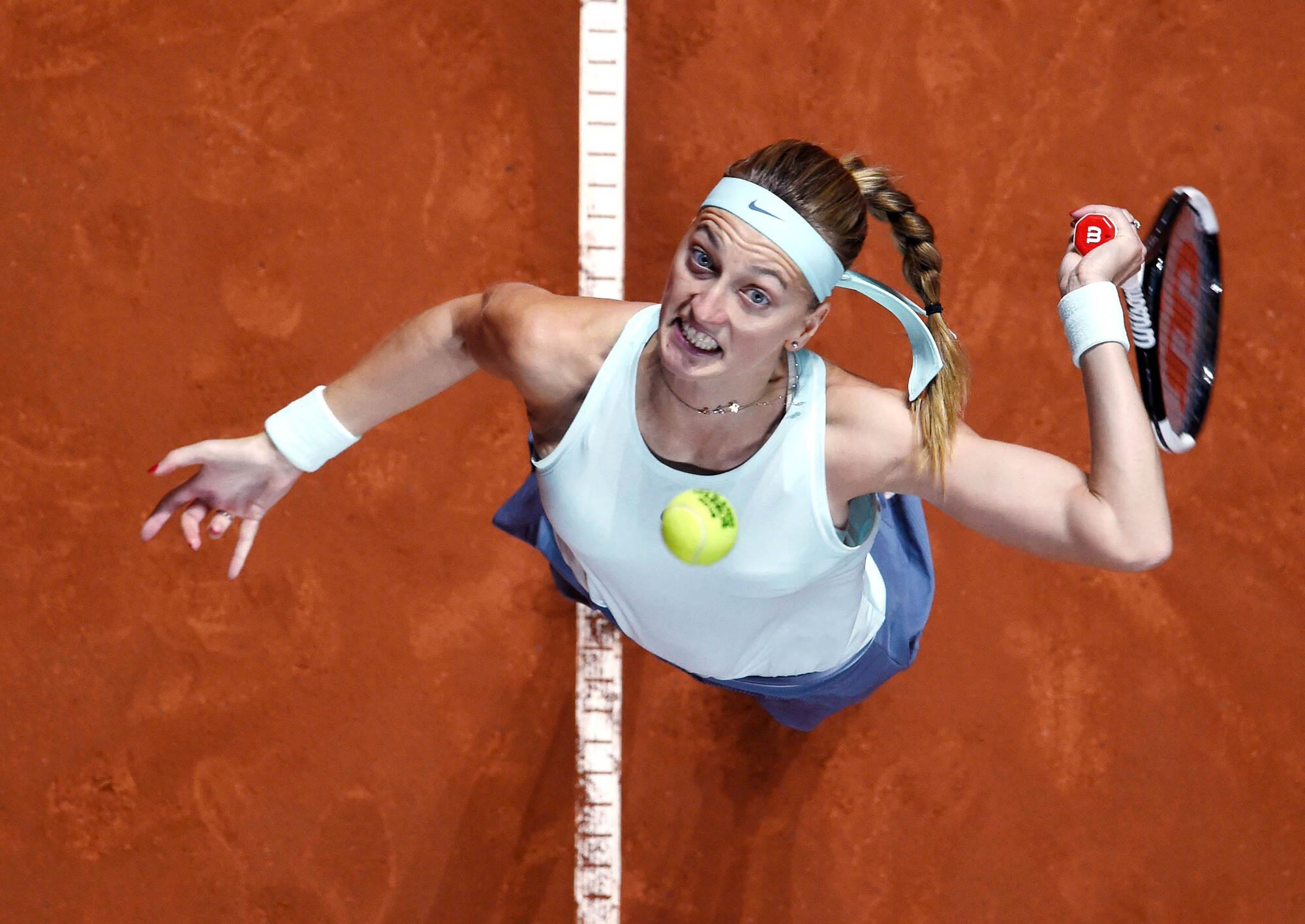 Tschechin Petra Kvitova Gewinnt Porsche Tennis Grand Prix