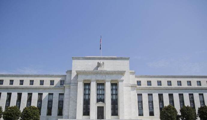 Die US-Notenbank Federal Reserve in Washington. Foto: Pablo Martinez Monsivais/AP