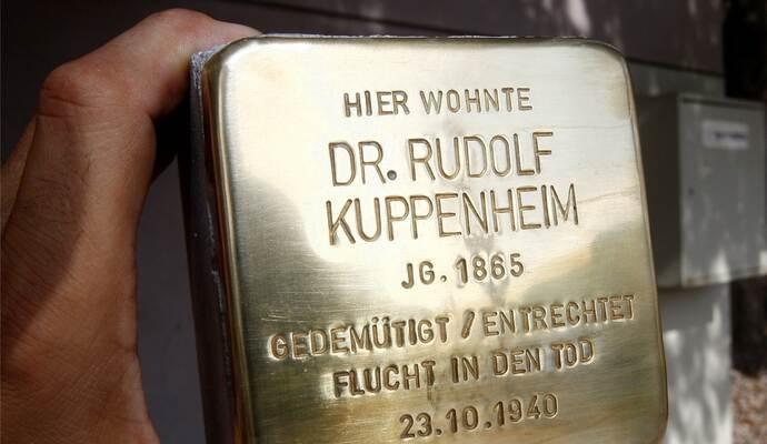c938b90045b1bb Deutsche wie das Pforzheimer Ehepaar Kuppenheim wurden vom Nazi-Staat  drangsaliert – die Nazi-