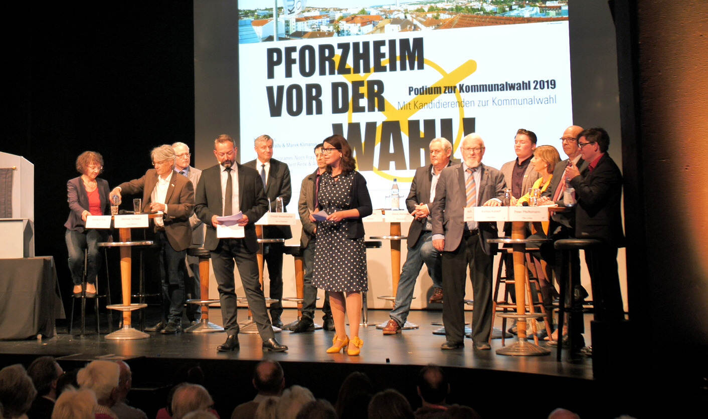 Podiumsdiskussion Osterfeld