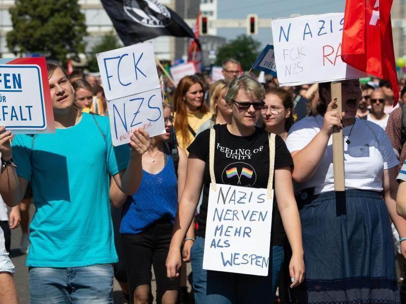 nazi demo kassel