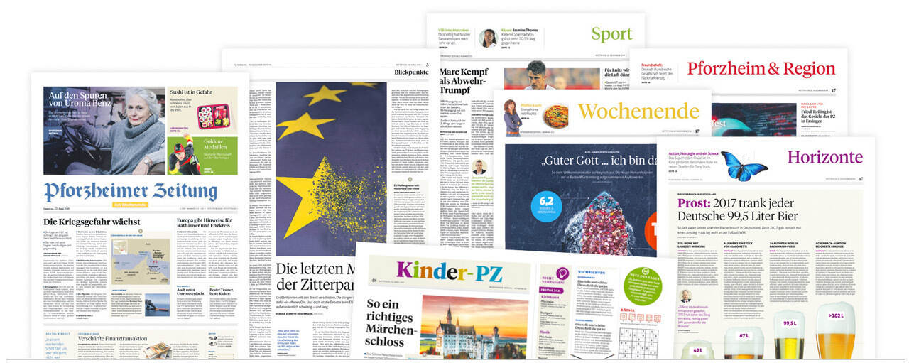 Anzeigen Pforzheimer Zeitung