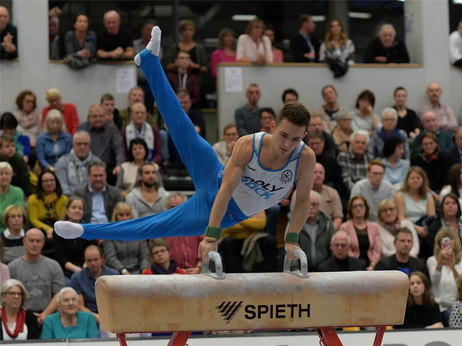 Turnen: KTV Straubenhardt und TG Saar im Finale - Sport - Pforzheimer-Zeitung - Pforzheimer Zeitung