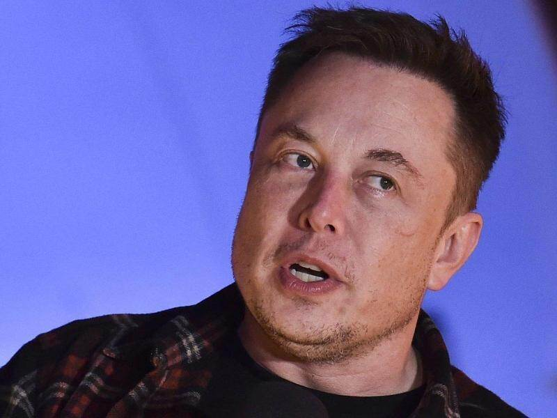 Musk macht Musik. Foto: Robyn Beck/Pool AFP/dpa